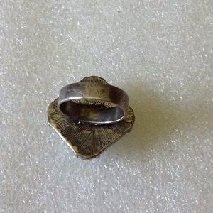 Vintage Jewelry - Vintage glass ring